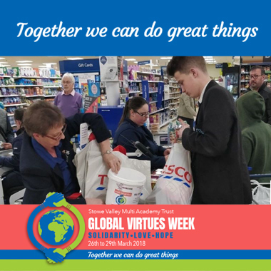 GVW - Bag packing for local Charities