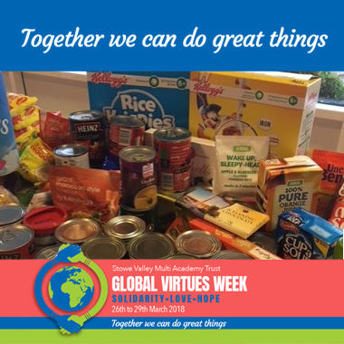 GVW - Food Bank Collection